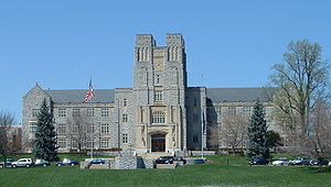 Virginia Tech College of Liberal Arts and Human Sciences - Burruss Hall