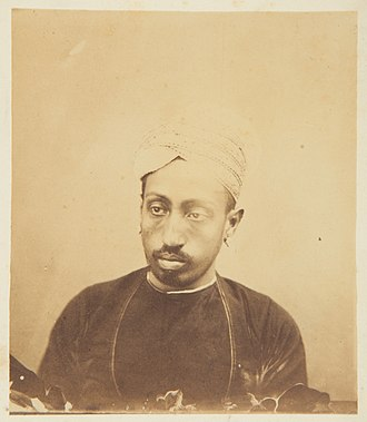 Visakham Thirunal - The Maharaja in 1868