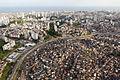 Vista aérea da linha 1 do Metrô de Salvador, próximo à Estação Acesso Norte.jpg