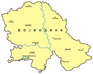 karta vojvodine srem Geografija Vojvodine — Vikipedija, slobodna enciklopedija karta vojvodine srem
