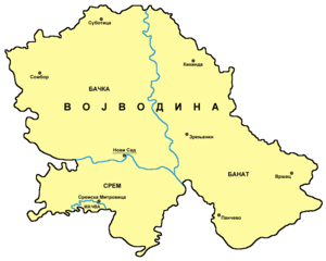 mapa srbije vojvodina Geografija Vojvodine — Vikipedija, slobodna enciklopedija mapa srbije vojvodina