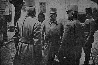 Vrhovni poveljnik avstro - ogrskih armad, maršal nadvojvoda Friderik na italijanski fronti.jpg