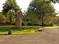 Włocławek-unusual stump in Sienkiewicz Park (2).jpg