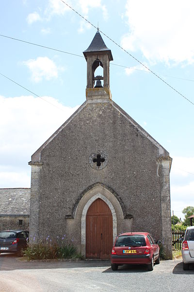 Chapelle Saint-Lien, Cornu, Fr-49-Martigné-Briand.
