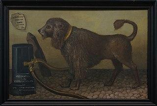 Bob, the Vigilant Fire Company's Dog