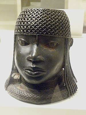 Nigerian traditional rulers - Image of a 16th-century ruler (Oba) of the Benin Empire.