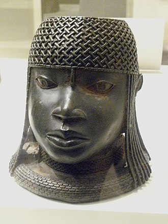 Nigerian traditional rulers - Image of a 16th-century ruler (Oba) of the Benin Empire