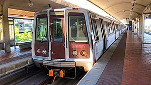 WMATA Rehab Breda 3000 Series at Reagan National Airport.jpg