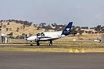 Wagga Air Centre (VH-EJE) Piper PA-31-310 Navajo taxiing at Wagga Wagga Airport.jpg