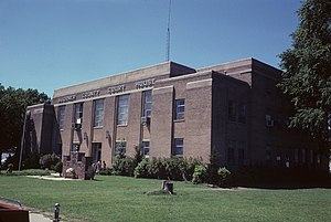 Wagoner County Courthouse in Wagoner