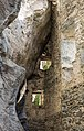 Waltensburg-Vuorz. Ruïne Burg Kropfenstein (Casti Grotta) (actm) 03.jpg