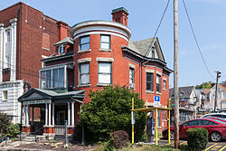 Walters House (Morgantown, West Virginia) south corner.jpg