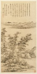 Tall Bamboo and Distant Mountains, after Wang Meng