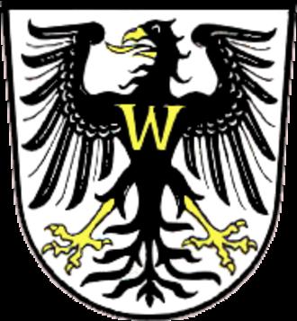 Bad Windsheim - Image: Wappen Bad Windsheim