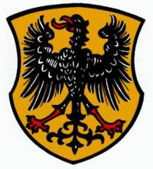 Harburg, Bavaria - Image: Wappen Harburg (Schwaben)