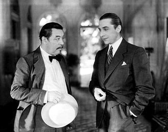 The Black Camel (film) - Warner Oland and Béla Lugosi