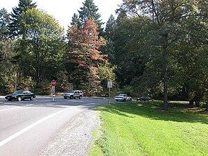 Washington Park Arboretum - The park's northern entrance