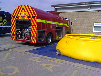 Devon and Somerset Fire and Rescue Service - Water Foam Carrier