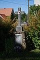 Wayside Cross in Dědice, Třebíč District.JPG
