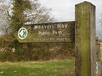 Weavers' Way - The way close to Blickling