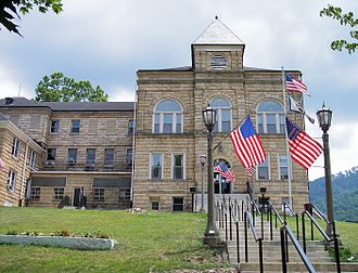 Webster County, West Virginia - Image: Webster County Courthouse West Virginia