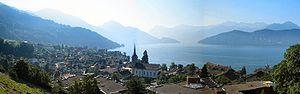 Weggis - View of Weggis, Switzerland