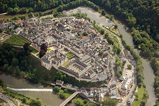 Weilburg Place in Hesse, Germany