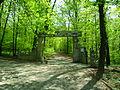 Wejście do Arboretum Bramy Morawskiej w Raciborzu.JPG