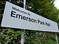 Welcome to Emerson Park Halt.JPG