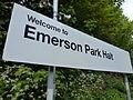 Welcome to Emerson Park Halt.JPG