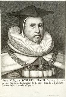 Robert Heath English judge and politician