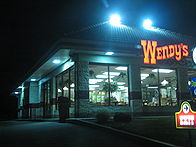 The Wendy's outlet where the finger was discovered