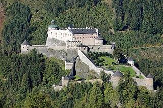 Hohenwerfen Castle Castle in Austria
