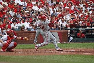 Jayson Werth - Jayson Werth batting
