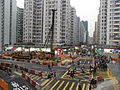 West concourse construction site of Whampoa Station.JPG