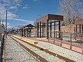 West northwest at the Draper Town Center station platform, Jan 15.jpg