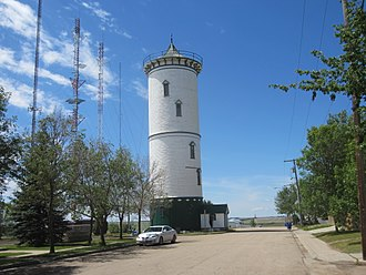Weyburn - Image: Weyburn water tower
