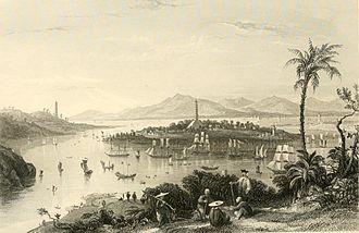 Pazhou - Image: Whampoa from Dane's Island