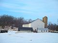 White Barn and a Silo - panoramio (1).jpg