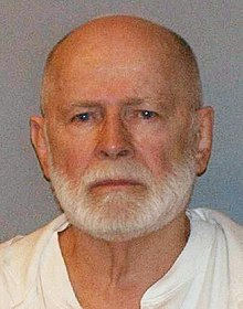 A mugshot of Bulger taken after his arrest in 2011