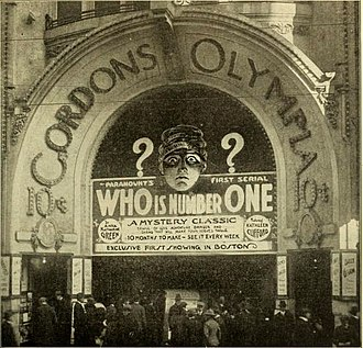 Who Is Number One? - Boston cinema promoting the film