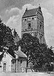 Wieża kościół Nawiedzenia Najświętszej Marii Panny w Warszawie przed 1939.jpg
