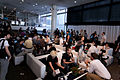 Wikimania 2009 - Coffee break.jpg