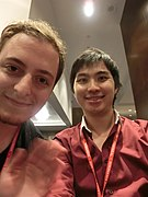Wikimania 2017 by Deryck day 0 - 15 James Hare.jpg
