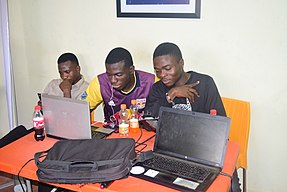 Wikipedians meet up at Ilorin Kwara state 3.jpg