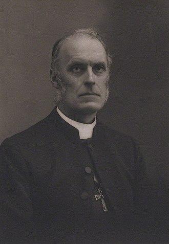 Hurstpierpoint College - Headmaster from 1873 to 1879 William Awdry
