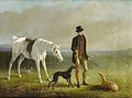 William Barraud - Coursing scenes, a set of four.jpg