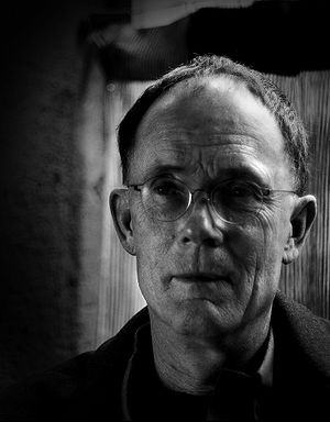 Portrait of author William Gibson taken on his...