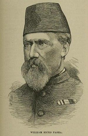 William Hicks (British soldier) - Image: William Hicks Pasha