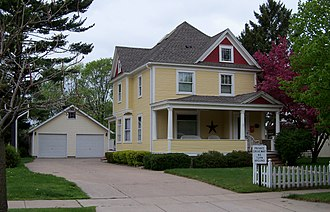 National Register of Historic Places listings in St. Croix County, Wisconsin - Image: William J. Bernd House (Arch Ave.) 1